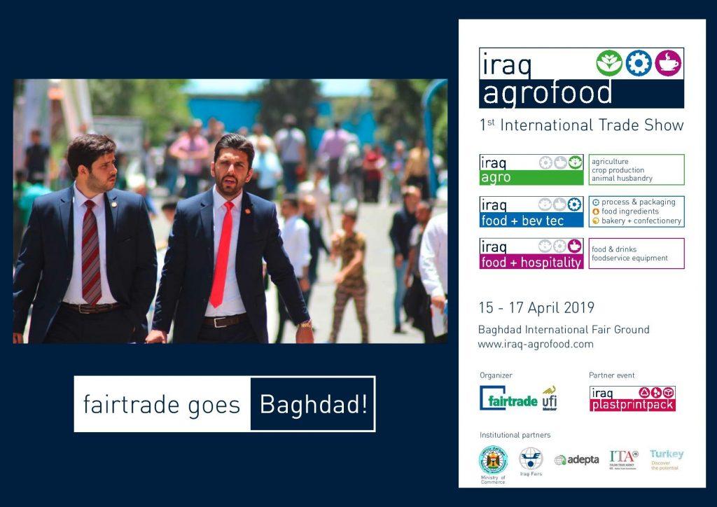 معرض متخصص بالزراعة وتصنيع وتعبئة الغذاء والمشروبات – المكونات الغذائية – المعجنات والحلويات -والاغذية Iraq Agrofood